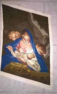 Wiehler's Holy Night Gobelin Original
