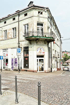 Photograph - Wieliczka Corner Shop by Sharon Popek