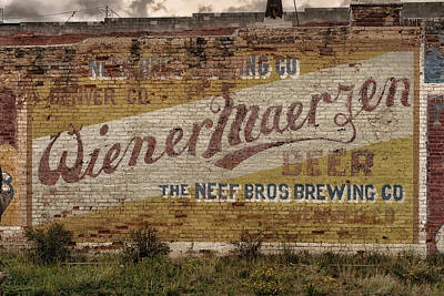 Photograph - Wiener Maerzen Beer Sign Victor Co Img_8703 by Greg Kluempers