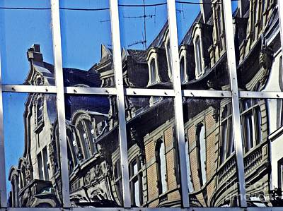 Photograph - Wiesbaden In Reflection by Sarah Loft