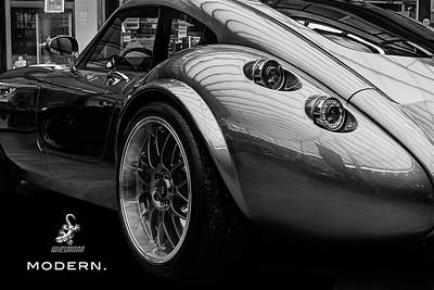 Wiesmann Mf4 Sports Car Art Print
