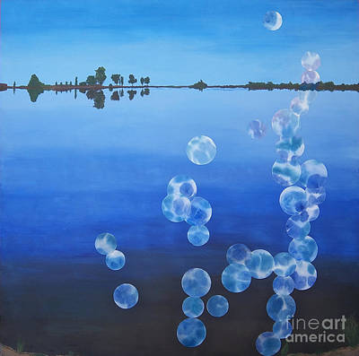 Painting - Wiest Lake by Jeni Bate