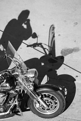 Ladies Bike Photograph - Wife Called  by Jerry Cordeiro