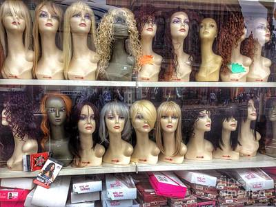 Photograph - Wig Shambles York by Joan-Violet Stretch