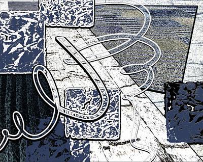 Alexander Calder Digital Art - Wiggle Waggle by Linda Dunn