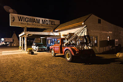 Photograph - Wigwam Motel #3 by Robert J Caputo