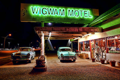 Photograph - Wigwam Motel by Jason Abando