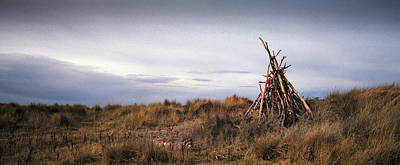 Photograph - Wigwam Of Sticks by Dave Bowman