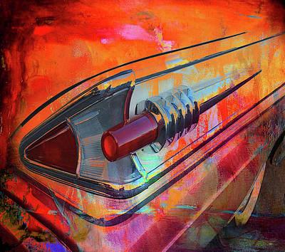 Digital Art - Wicked Tail by Greg Sharpe