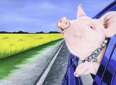 Liberation Painting - Wilbur 2 by Twyla Francois