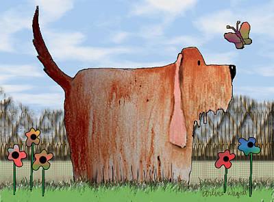 Cartoon Digital Art - Wilbur by Arline Wagner