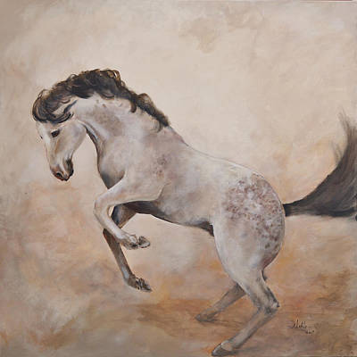 Painting - Wild by Alan Lakin