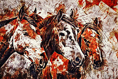 Painting - Wild And Free by Lita Kelley