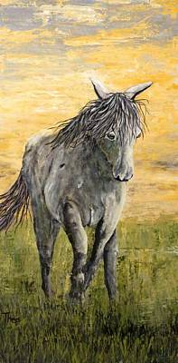 Painting - Wild And Free by Suzanne Theis