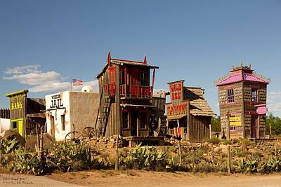 Photograph - Wild Ass Saloon And Other Respectable Establishments by Hany J