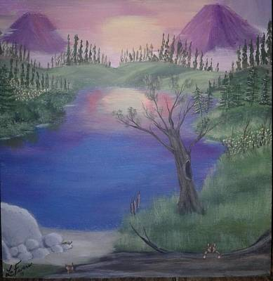 Bob Ross Painting - Wild At Heart by Lori Lafevers