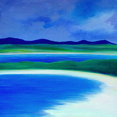 Painting - Wild Atlantic Way Beach by K McCoy