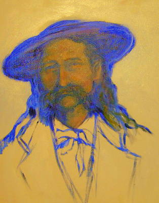 Painting - Wild Bill Hickok by Johanna Elik