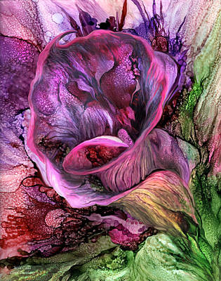 Mixed Media - Wild Calla by Carol Cavalaris