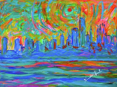 Painting - Wild Chicago Ride by Kendall Kessler