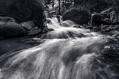 Photograph - wild creek in Harz, Germany by Andreas Levi