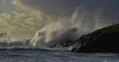 Photograph - Wild Day At Clogher by Barbara Walsh