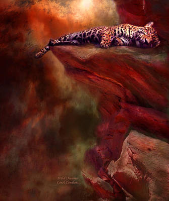 Mixed Media - Wild Dreamer by Carol Cavalaris