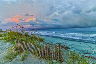Photograph - Wild Dunes Serenity by Donnie Whitaker
