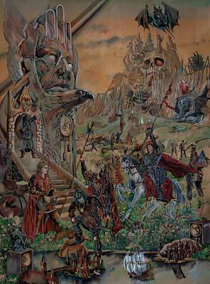 Painting - Wild Fantasy by Igor Khalandovskiy