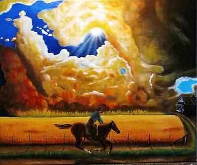Painting - Wild Fire  by Gene Gregory