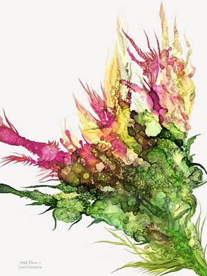 Mixed Media - Wild Flower 1 by Carol Cavalaris