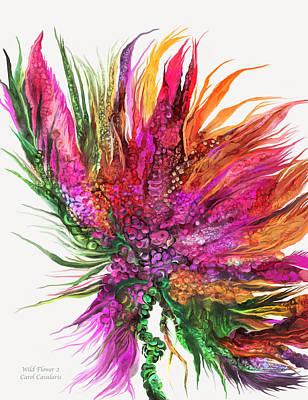 Wild Flowers Mixed Media - Wild Flower 2  by Carol Cavalaris