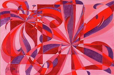 Joseph Edward Allen Painting - Wild Flower by Joseph Edward Allen