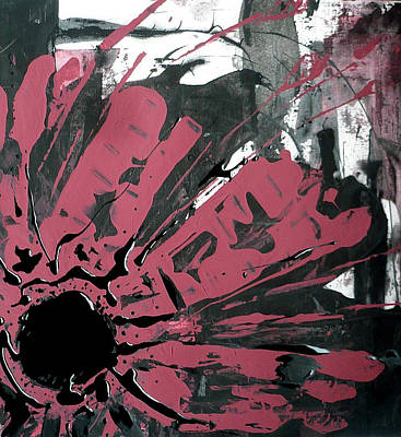 Painting - Wild Flower Abstract by 'REA' Gallery