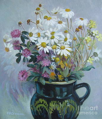 Wild Flowers 2 Original by Elena Oleniuc