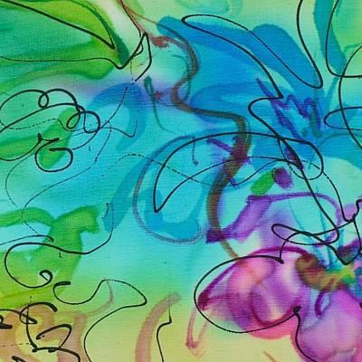 Painting - Wild Flowers by Barbara Pease