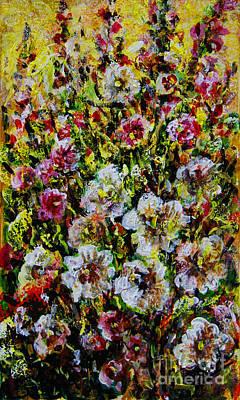 Painting - Wild Flowers by Dariusz Orszulik
