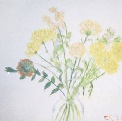 Painting - Wild  Flowers by Glenda Crigger