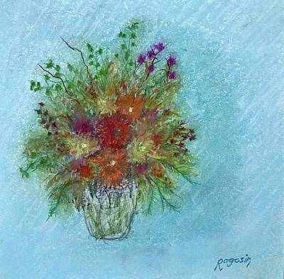 Wild Flowers Art Print by Harvey Rogosin