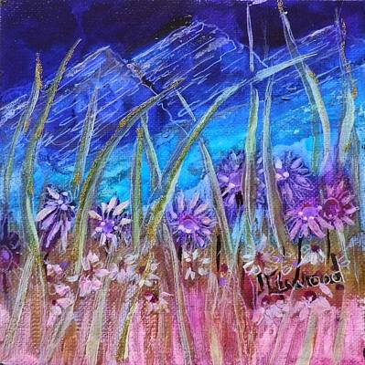 Painting - Wild Flowers by Jann Elwood