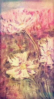 Pastel - Wild Flowers by Kara Evelyn-McNeil