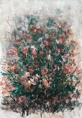 Painting - Wild Flowers by Laila Awad Jamaleldin