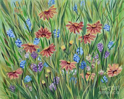 Painting - Wildflowers by Olga Hamilton