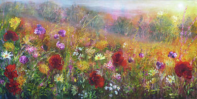 Painting - Wild Glory by Ann Marie Bone