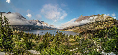 Photograph - Wild Goose Island Glacier National Park  by John McGraw