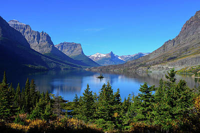 Photograph - Wild Goose Island, Glacier National Park by Marilyn Burton