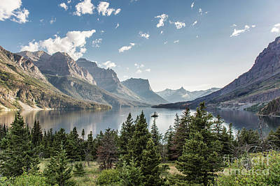 Photograph - Wild Goose Island In St. Mary Lake - Glacier National Park by Jason Kolenda