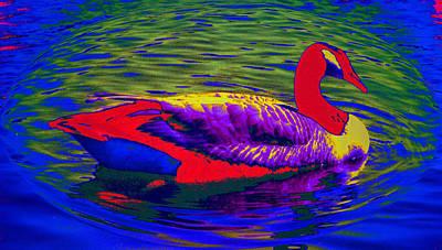 Wild Goose Art Print by Russ Mullen