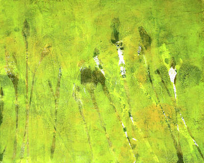 Painting - Wild Grass 5 by Nancy Merkle