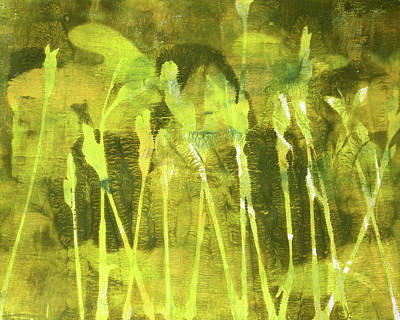 Painting - Wild Grass 6 by Nancy Merkle